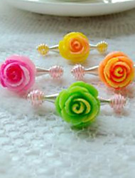 Children's Rose Hair Clip(4/set)