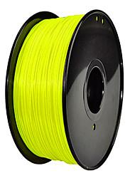 JUWEI Noctilucent 3D Printer Filament 3D Printing Consumables Material(ABS PLA,1.75 3.0mm)