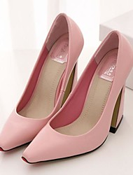 Women's Shoes Pointed Toe Chunky Heel Shoes More Colors available