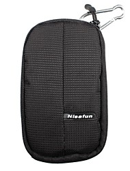 Nisafun Compact Waterproof Zip Pouch Case Bag  for a Point & Shoot Camera Packet-12