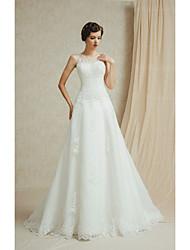 Vestido de Boda - Blanco y Champaña (el Color y Estilo pueden variar según su monitor) Corte en A Hasta el Suelo - Sweetheart
