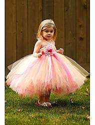 Ball Gown Ankle-length Flower Girl Dress Sleeveless