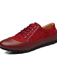 Шерсть теленка - MEN - Круглый носок - Модная обувь