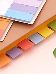 arco-íris mini-pós etiqueta ao Bookmark guia índice bandeiras marcador noteskids pegajosas de casamento presente de aniversário de retorno