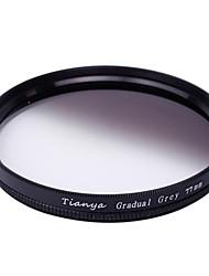tianya® 77 milímetros circular filtro graduado cinzento para canon 24-105 24-70 i 17-40 nikon 18-300 lente
