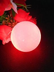 1 peça de cobertura branca vermelho levou luz suryln / borracha tempo noite luz formação DuPont up bola de golfe