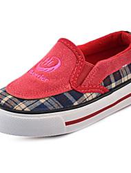zapatos infantiles confortan los zapatos planos del talón zapatillas de deporte de moda lienzo disponibles