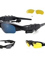 winait® bt-4 des lunettes de soleil à puce, des appels 4.0 / main-libres Bluetooth pour smartphone android / ios