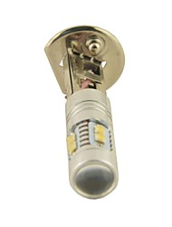 Carking™ Car Auto H1 50W 10SMD LED Fog Light Head Lamp Driving Bulb-White(12V 1PC)