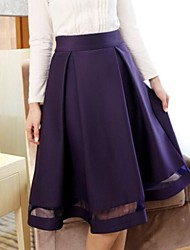 Women's Solid Color Pleated Skirt(More Colors)
