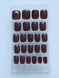 24pc Short Length Clorlor Nail Tips  197