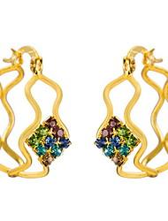 Yue Women's Causual Fashion Geometrical Earrings