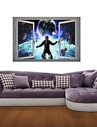 3d наклейки наклейки на стены, астронавт пространство декор виниловые наклейки настенные
