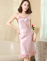 Satin/Polyester Sexy  Casual/Party Sleepwear