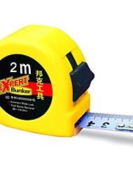 marca bunker 52series strumento di misurazione nastro con dimensioni 200x1.3cm (78x0.5inch)