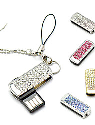 amotaios amo-uz069 (32G) 32gb usb 2.0 Flash Keychain pen drive / cristallo
