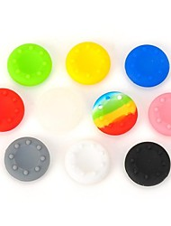 10pcs Thumbsticks Joystick Grips for PS3 / PS2 / Xbox 360 (Multicolored)