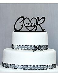 toppers gâteau bois personnalisé de gâteau