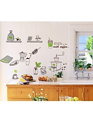 Wall Stickers Wall Decals, Style Kitchen Supplies PVC Wall Stickers
