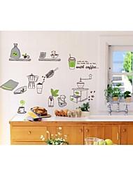 stickers muraux stickers muraux, fournitures de cuisine de style muraux PVC autocollants