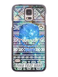 caja del teléfono personalizado - sombrero del bowknot caso de diseño de metal para i9600 Samsung Galaxy S5
