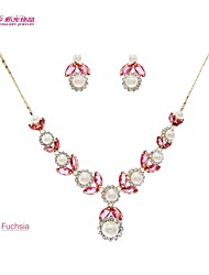 Ladies'/Party/Bridal Neoglory Jewelry Necklace Earring Set with Austrian Rhinestone