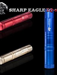 águia afiado / ZQ-la-03 ponteiro laser verde (5mw.532nm.1x18650.multi-colorida)