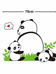 Lovely Baby Panda PVC Wall Stickers