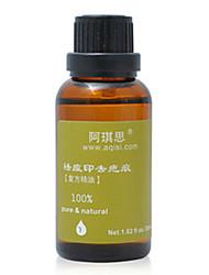 étanchéité de la variole aiqisi®anti&le traitement des cicatrices d'huile essentielle pour les hommes (une bouteille)