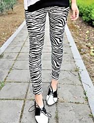 Women's Zebra Pattern Leggings