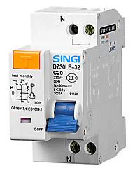 DZ30LE-32 1p + N20A FI-Schutzschalter Fehlerstromschutzschalter