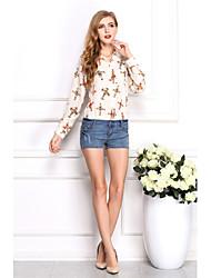 moda camisa causual girllife das mulheres