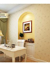 papier peint floral contemporain dessins de fleurs beige pour le mur de la chambre des filles domaines de l'art non-tissé mur de papier