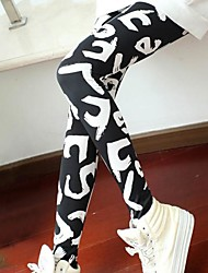 Women's Casual Alphabet Leggings
