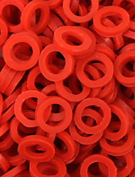 ITATOO™ 300pcs Red Rubber Tattoo O-ring for Tattoo Machines Parts P106018A