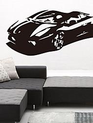 sticker mural environnement voiture de PVC amovible