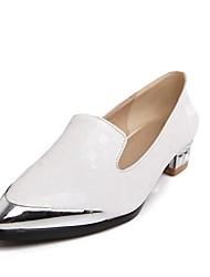 Women's Spring / Summer / Fall / Winter Heels / Pointed Toe Office & Career / Dress Low Heel Pink / White / Beige