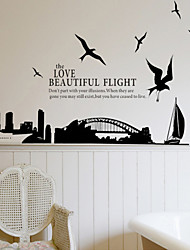 Wall Stickers Wall Decals, Style Sydney Bridge PVC Wall Stickers