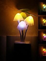 decoração do casamento cogumelo avatar sonho luz em forma - planta controlada colorido luz da noite levou