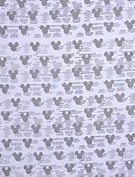 lovely mickey lidera a impressão de algodão pano de tecido, 150 centímetros de largura - vendidos a metro
