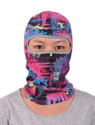 Qinglonglin Unisex Printed Balaclava Skull Mask For Motorcycle Skiing