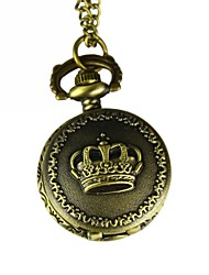 Masculino Relógio de Bolso Quartzo Lega Banda Bronze Bronze Dourado