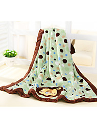 76*110 100% Polyester Cute Lion Super Soft  Velboa Baby Blanket/Throw , Cozy, Soft And Stay Warm