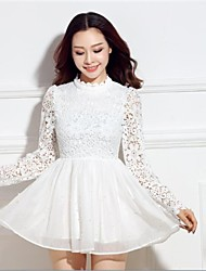 ICED™ Women's Lapel Nail Bead Mosaic Fashion Dress (More Colors)