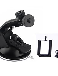 Suction Cup Mount + Tripod Adapter + Phone Clip For IPHONE / Samsung / GoPro Hero 4 / 2 / 3 / 3+