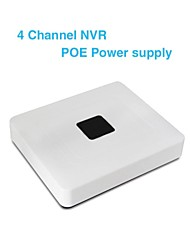 PW8104 4 road network hard disk video recorder 1080P Digital HD NVR 4 remote switch