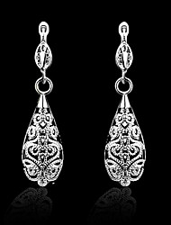 Women's Silver Drop Earrings