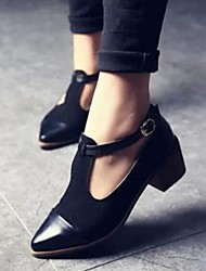 Women's Shoes Fabric Chunky Heel Pointed Toe Pumps Casual More Colors available