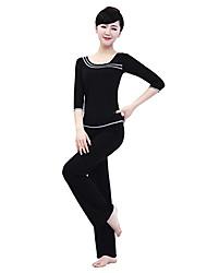 tapas de yoga de fitness ropa de baile de las mujeres yiduolian