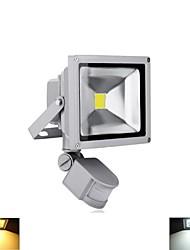 20W Focos LED 1 LED de Alta Potencia 2800-6500 lm Blanco Cálido / Blanco Fresco Sensor AC 85-265 / AC 100-240 / AC 110-130 V 1 pieza